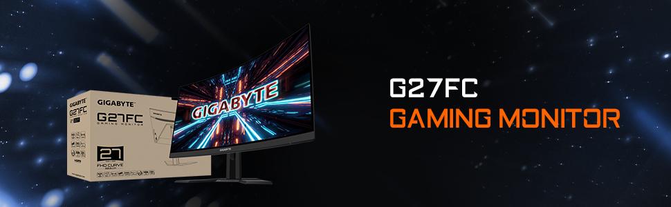 G27FC Gaming Monitor, Monitor, Gigabyte Monitor