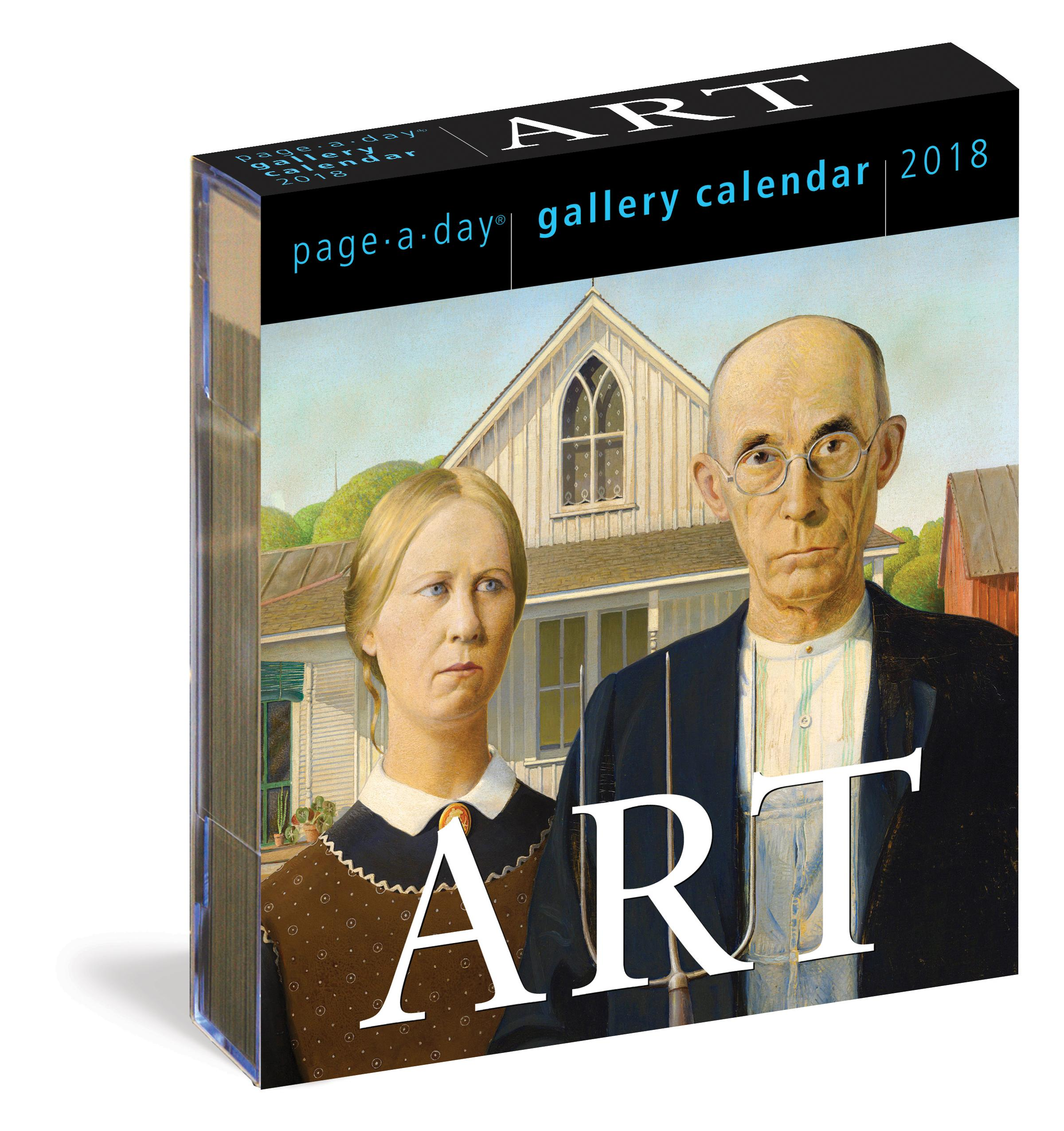 Art Page-A-Day Gallery Calendar 2018: Workman Publishing