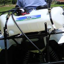 broadcast spraying, boom spraying, swath, boomless, atv,utv, lawn, field, spot spray, 12v, trailer
