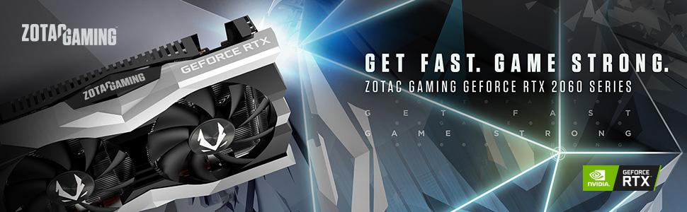 ZOTAC Gaming GeForce RTX 2060 Twin Fan 6GB GDDR6 192-bit Gaming Graphics  Card, Super Compact, IceStorm 2 0, ZT-T20600F-10M