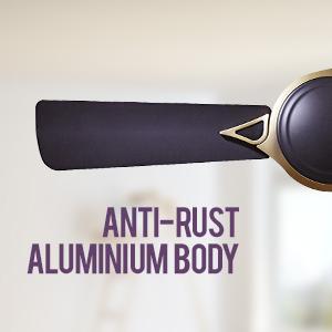 Crompton Ceiling Fan Avancer Prime Cocoa Gold Anti Dust