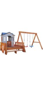 Real Wood Adventures Chipmunk Cottage