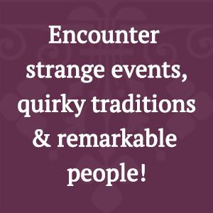 strange, traditions, people
