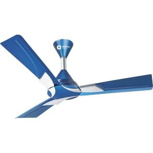 SPN-FOR1 Orient Electric Wendy 1200mm Ceiling Fan (Azure Blue/Silver)
