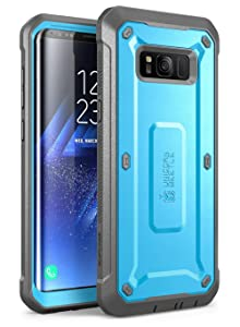 SUPCASE Unicorn Beetle PRO Series Phone Case for Samsung Galaxy S8 Plus, Full-Body Rugged Holster Case with Built-in SP for Galaxy S8 Plus(Black)