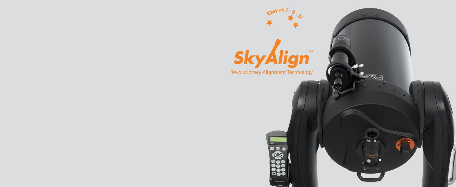Celestron's Revolutionary SkyAlign Procedure