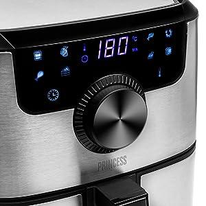friggitrice smart programmi di cottura con cellulare regola temperatura