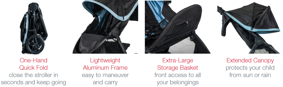 B-Free Stroller Features