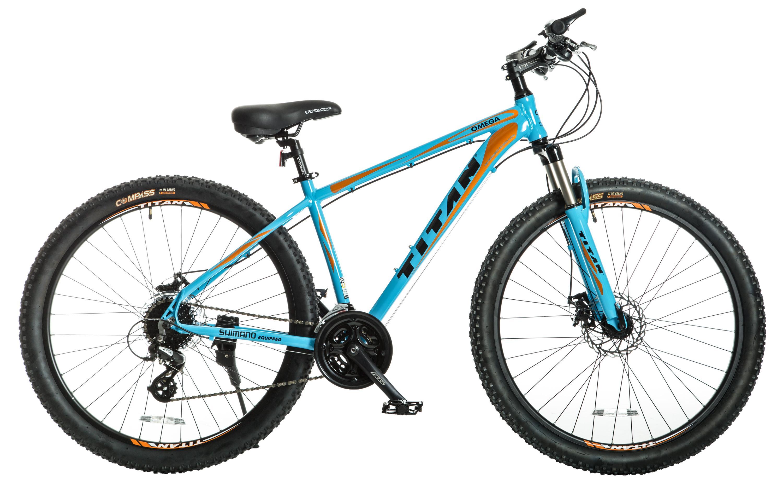 Titan Omega Alloy Frame Mountain Bike With Front
