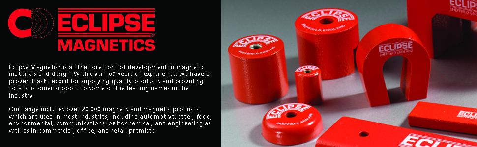 Eclipse Magnetics M19617NR Alnico Channel Horseshoe Magnet, Maximum Pull of 10 lb: Amazon.com: Industrial & Scientific