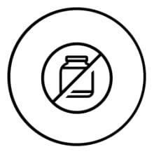 No más polvos o bebidas lácteas poco prácticas. Bebida proteica 100% libre de lactosa y lácteos.