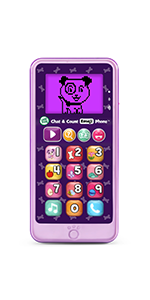 Chat & Count Emoji Phone-Violet