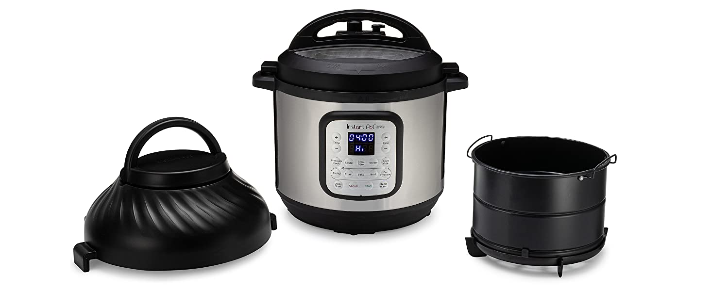Instant Pot, one pot meals, air fryer, air fry, air fries, pressure cooker, pressure cooking