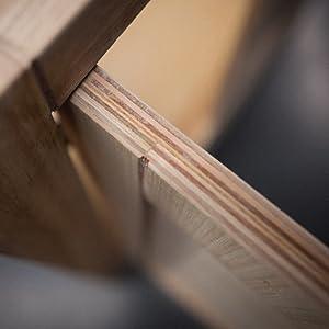 half inch hardwood panels