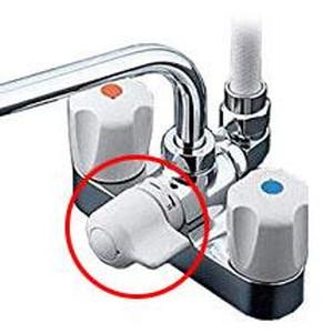 TOTO 浴室用水栓 台付き 2ハンドル混合栓