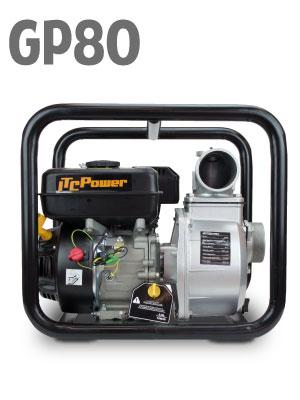 4780 W ITCPower GPH50 Motobomba de Gasolina