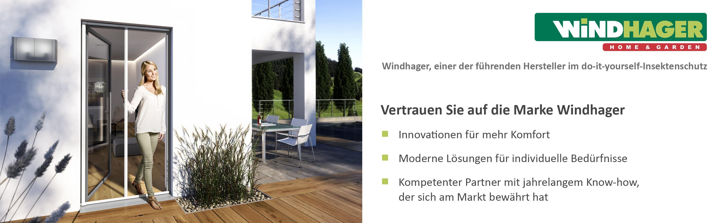 windhager insektenschutz aluminium rollo fliegengitter f r t ren balkont ren individuell. Black Bedroom Furniture Sets. Home Design Ideas