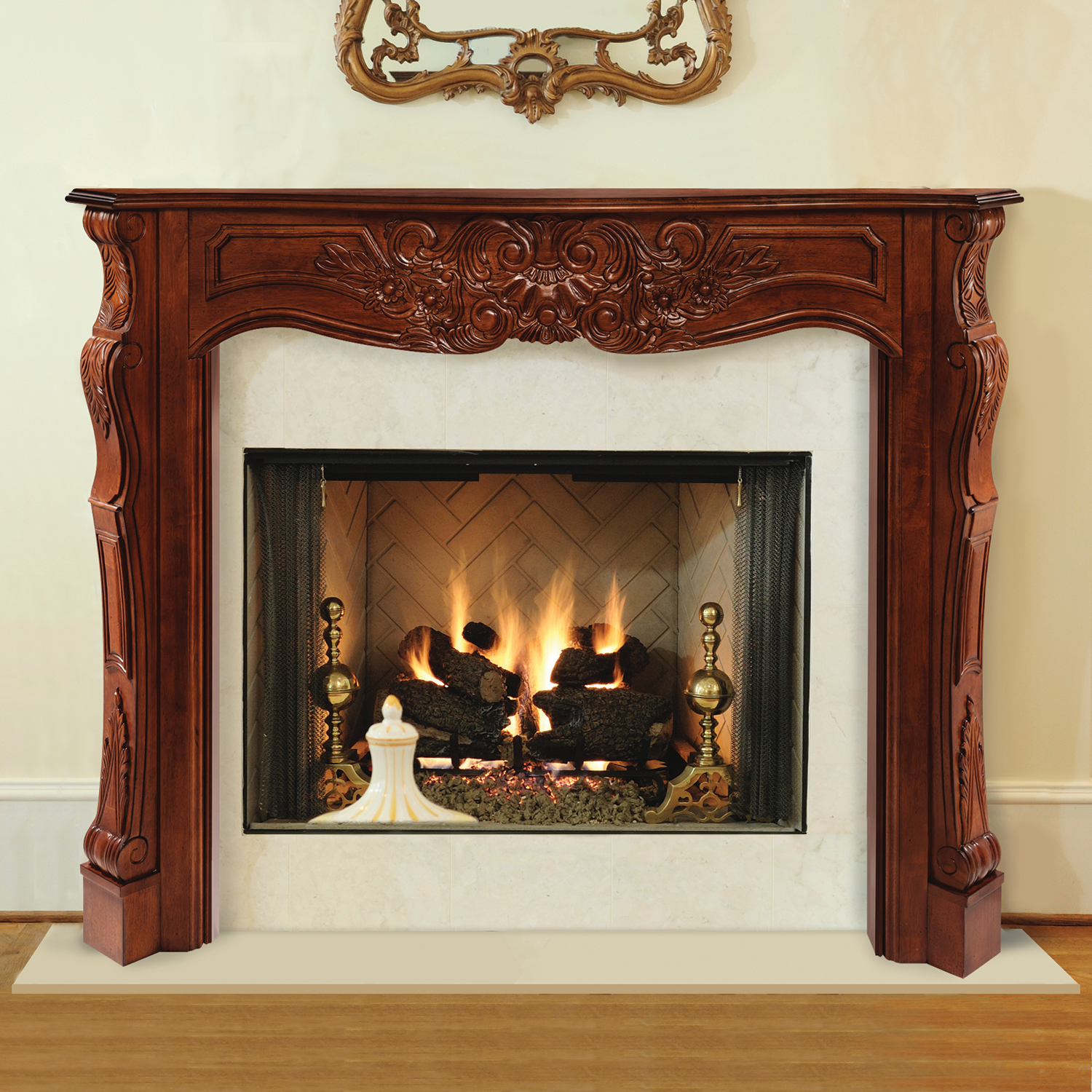 Amazon Pearl Mantels 510 48 Newport 48 Inch Fireplace