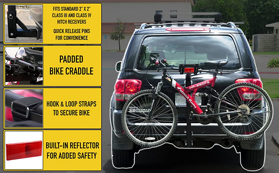 Thule, Yakima, Allen, bike, rack, camping, outdoor, RV, hitch, MaxxHaul, SUV, bicycle, mountain, a