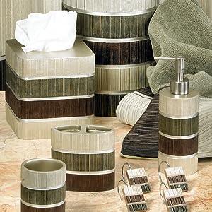 Modern Line collection sage bathroom accessory