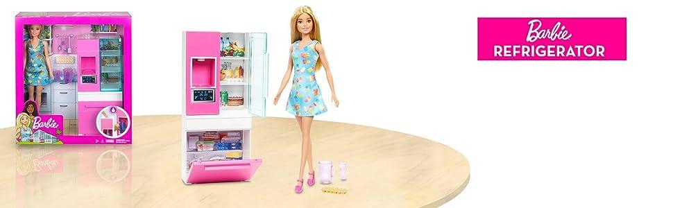 Room & Doll Barbie - Refrigerator (Blonde)