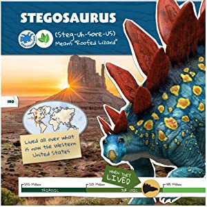 jurassic world dinosaur field guide park book encyclopedia fandex dino dana dan kids fact cards