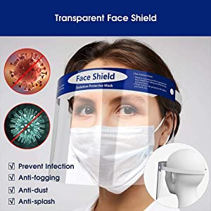 Mujeres y Adultos ,Funda Protectoral Transpirabletoalla De Tela Multifuncional HAOTU 1pcs Masarillas/_Desechable/_KF94 Reusable 4 Layerface Shield Filter Protection Breathable Dust Proof,Ajustable