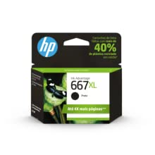 Cartucho de Tinta HP 667xl Preto Original