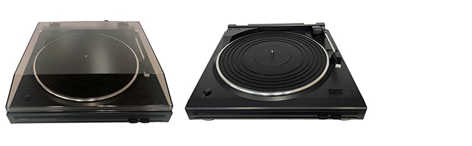 Denon DP29 lid on or off