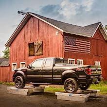 UWS Crossover Truck Tool Box Extra-Thick Aluminum