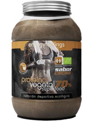Energy Feelings Proteína Vegetal 70% sabor Cacao control de peso ...