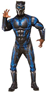 black panther battle costume
