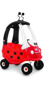 ride on toys kids ladybug toddler cozy coupe