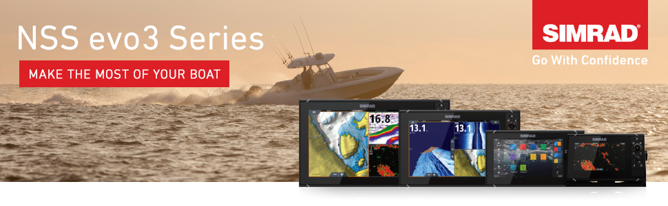 NSS evo3 Series, make the most of your boat, simrad