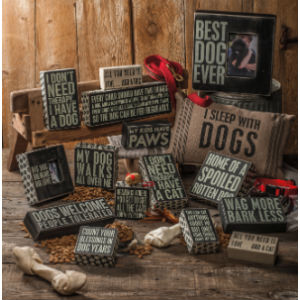 dog mom lover dog signs gift decor funny saying primitives by kathy towel