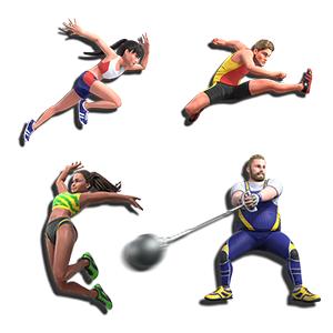 東京五輪 オリンピック 東京2020 Olympic 陸上 100m走 ハンマー投げ 走り幅跳び ハードル