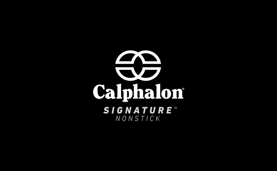 Calphalon Logo on Black Background