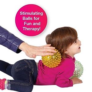 sensory balls therapy stimulate senses