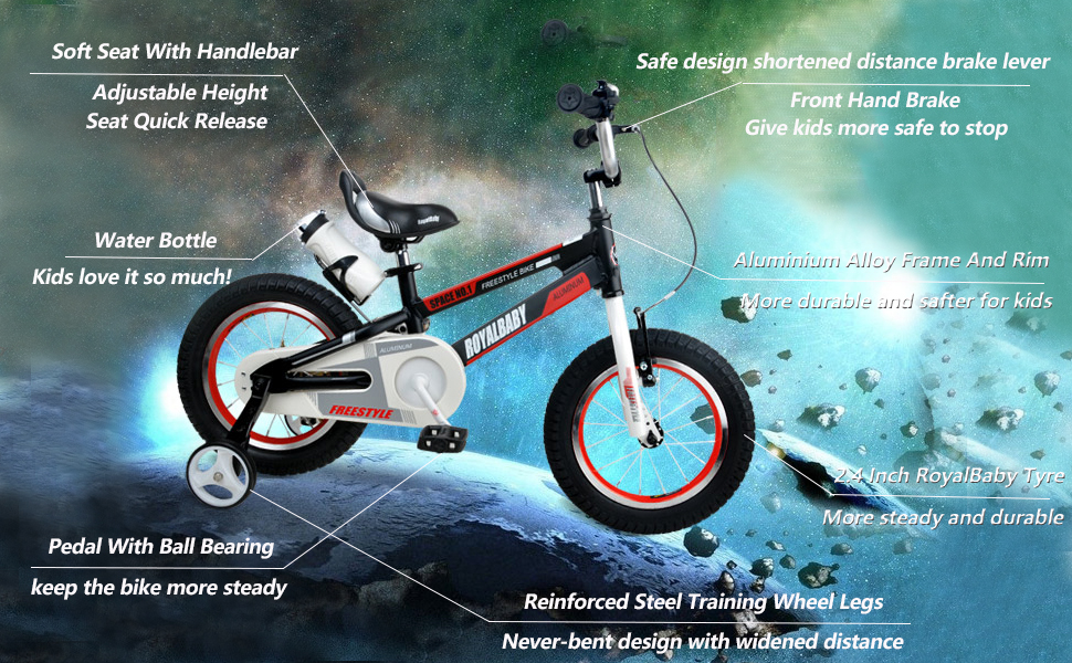 space 1 kids bike