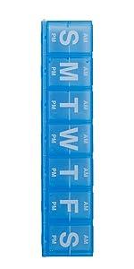 amazon com ezy dose 2 week locking pill planner 2xl health