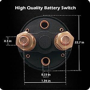 Ampper Battery Power Switch