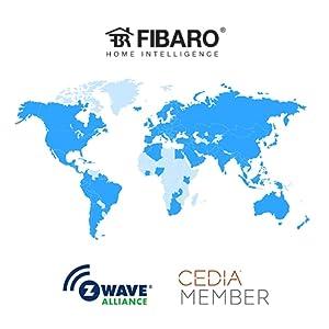 Fibaro Smart Home Installers Z-Wave Alliance CEDIA
