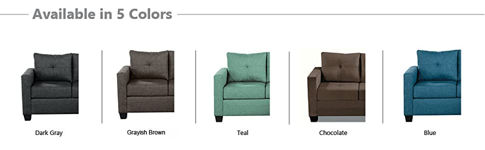 Astonishing Homelegance Phelps 78 X 58 Fabric Reversible Chaise Sofa Teal Gmtry Best Dining Table And Chair Ideas Images Gmtryco