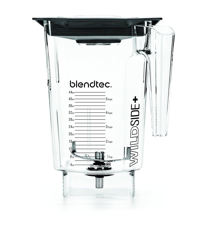Blendtec 40-609-62 Clear FourSide Jar with Black Hard Lid