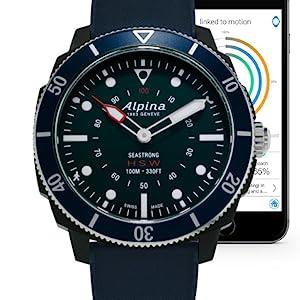 Alpina Horological Smart Watch, Swiss Quartz Movement