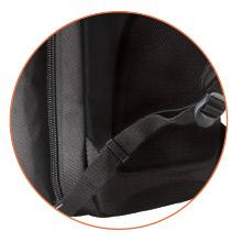 Easy-adjust strap management system