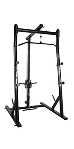 Amazon Com Cap Barbell Deluxe Power Rack Fm Cb8000f Sports Amp Outdoors