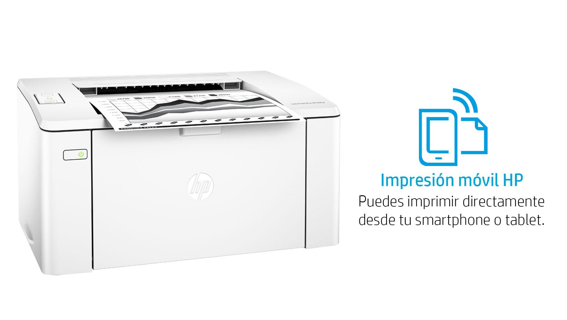 hp laser printer laserjet pro m102w wireless  amazon com mx  electr u00f3nicos