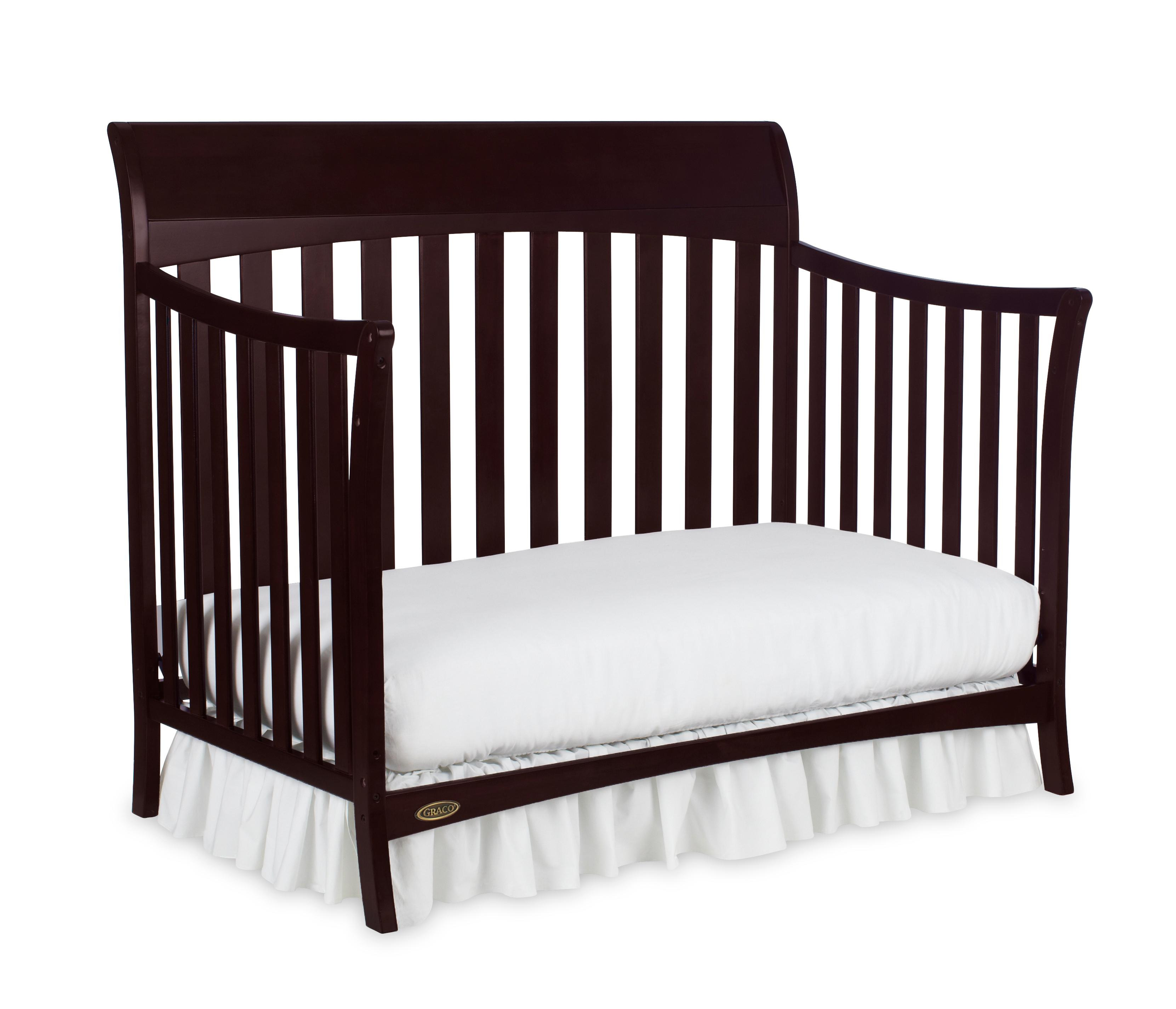 Amazon Com Graco Rory Convertible Crib Espresso Baby