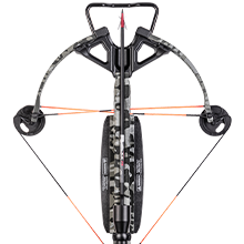 Wicked Ridge Rampage 360 Crossbow Top Down Image.